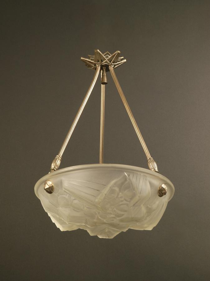 suspension vasque art d co henri mouynet lighting deco luminaires. Black Bedroom Furniture Sets. Home Design Ideas
